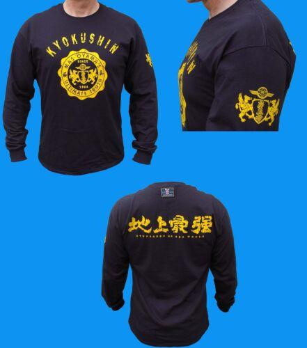 Karaté Kyokushin Long Shirt Budo Oyama Kyokushinkai Carats