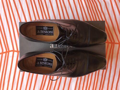 pour classiques 100Made hommes Oxford Italy Classic Testoni in de Chaussures marque noires 3R5AL4j