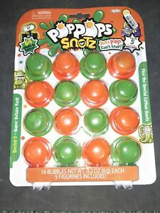 NEW PopPops Snotz Series 1 Deluxe Pack 12 Snot Pop or 16 pack