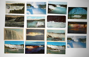 LOT-OF-24-NIAGARA-FALLS-NY-NEW-YORK-POSTCARDS-GOAT-ISLE-ETC