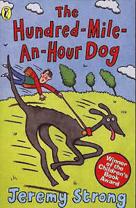 034-VERY-GOOD-034-The-Hundred-mile-an-hour-Dog-Strong-Jeremy-Book