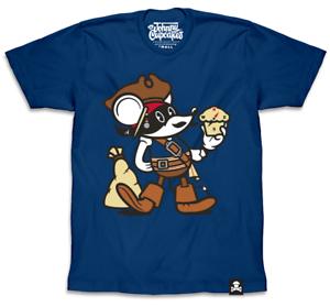 Johnny Cupcakes (Men's) T-Shirt  Capn' Johnny Mouse
