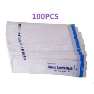 100PCS-Dental-Disposable-Intraoral-Camera-Sleeve-Camera-Sheath-Cover-UK-STOCK