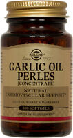 Solgar Garlic Oil Perles 100 Softgels Reduced Odor
