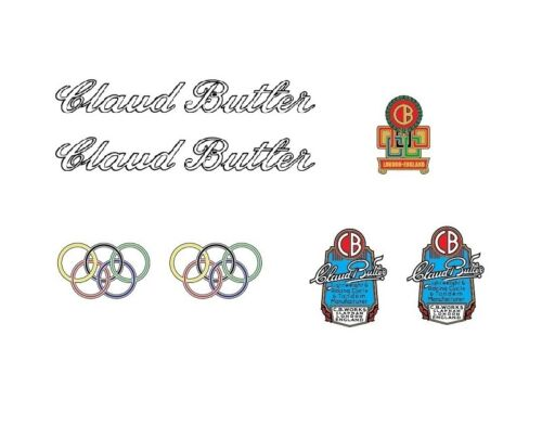 Stickers n.16 Claud Butler Bicycle Decals Transfers
