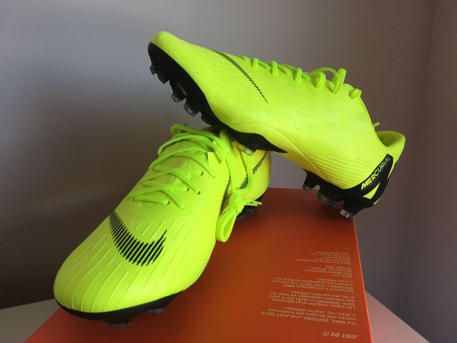 Nike mercurial vapor 12 pro FG Talla 43 8,5 us 9,5 nuevo