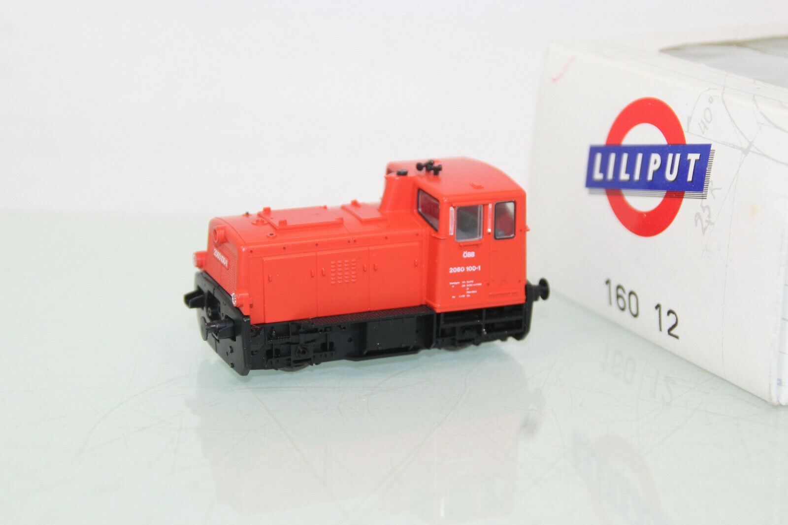 Liliput h0 160 12 diesel-avanza br 2060 100-1 ÖBB en embalaje original (cl1734)