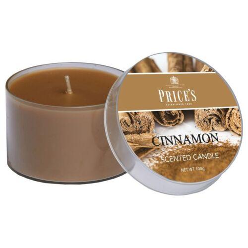 Prix de bougie parfumée Tin 100 g-Cannelle