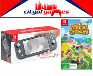 Nintendo Switch Lite Console Grey Animal Crossing New