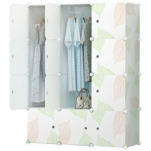 Kleiderschrank Garderobe für hängende Kleidung modularer Schrank Kombischrank