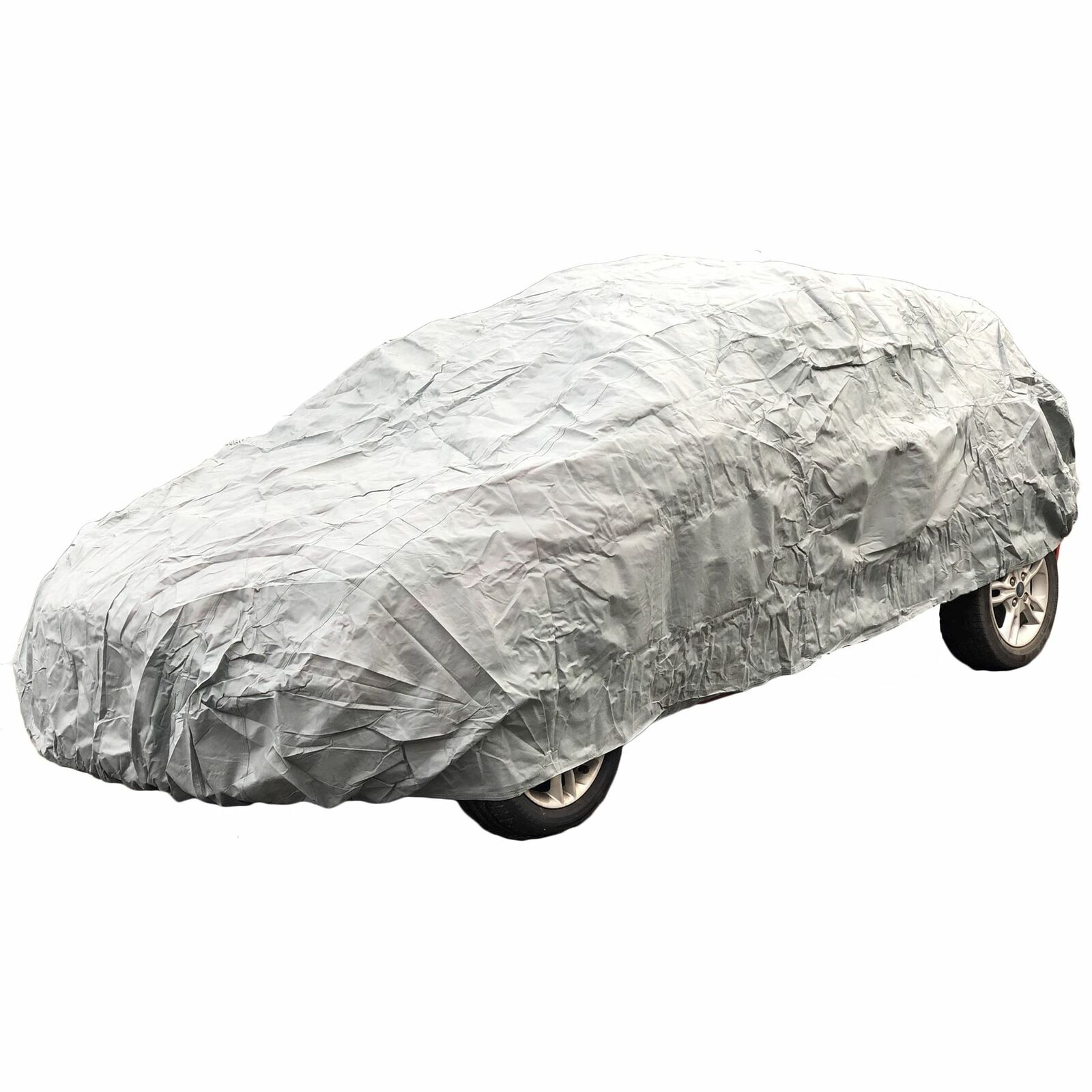 All Weather Car Cover Breathable Soft Non-Woven Polypropylene Large