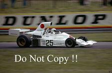 Howden Ganley Maki F101 British Grand Prix 1974 Photograph