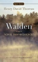 Walden And Civil Disobedience By Henry David Thoreau, (mass Market Paperback), S on Sale