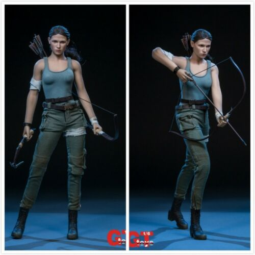 In-Stock 1/6 Scale GTToys The Explorer Tomb Raider Lara Two Head Clothes Set
