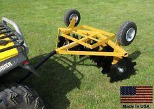 DISC CULTIVATOR Harrow - Tow Behind ATV UTV & Garden Tractor - 5 Ft Cut Width