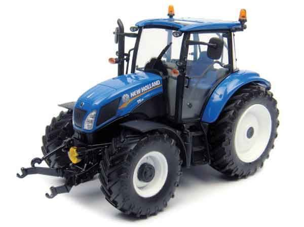 UNIVERSAL HOBBIES 1 32 SCALE NEW HOLLAND T5.115 TRACTOR MODEL   BN   4229
