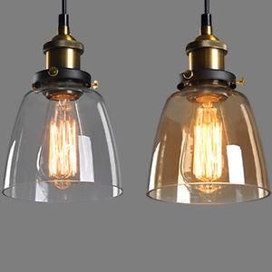 Vintage amber glass shade ceiling lights chandelier fitting pendant image is loading vintage amber glass shade ceiling lights chandelier fitting aloadofball Gallery