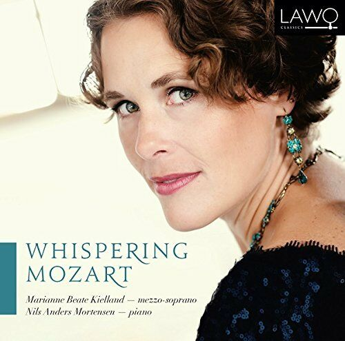 Marianne Beate Kielland ; Nils Anders Mortensen - Whispering Mozart - Songs [CD]
