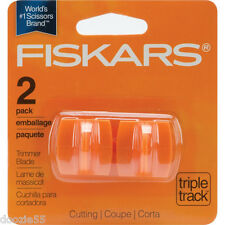 Fiskars Triple Track Trimmer Cutting Blade 2Pk. High Profile Blade Style I 9687