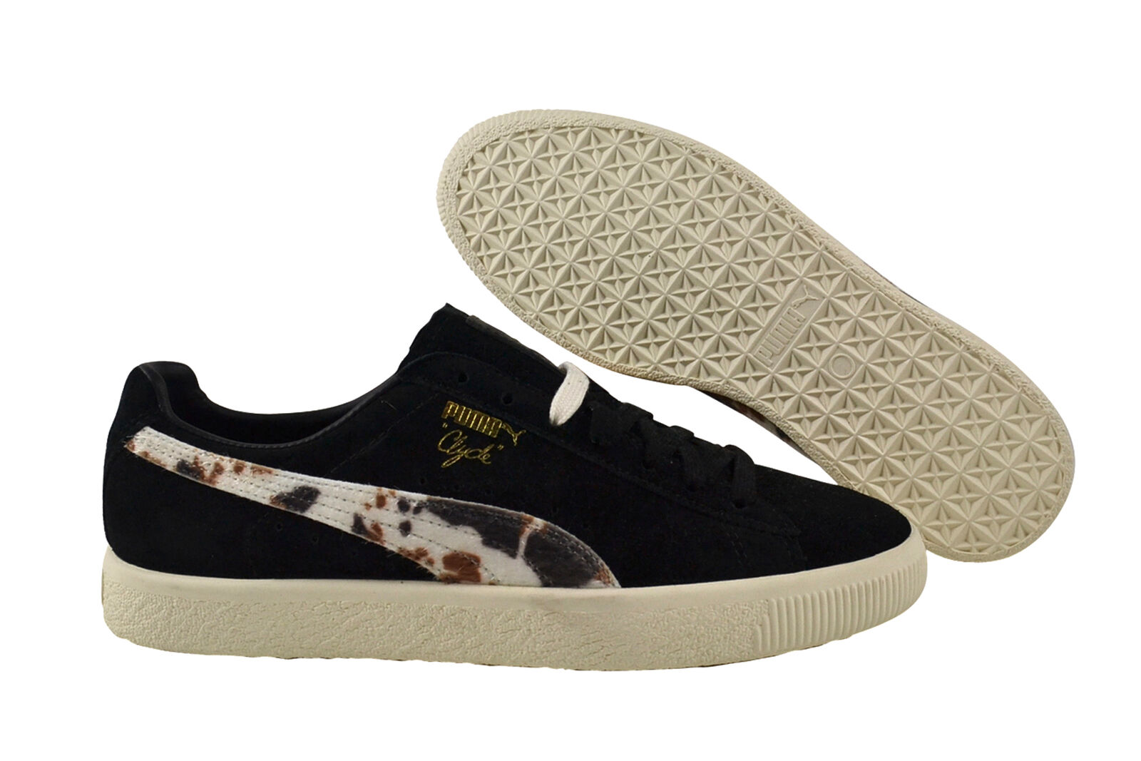 Puma Clyde X Packer black/white Sneaker/Schuhe schwarz 363507 01