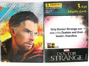 Doctor-Strange-Movie-Trading-Card-1x-003-Mystic-Card-Foil-TCG