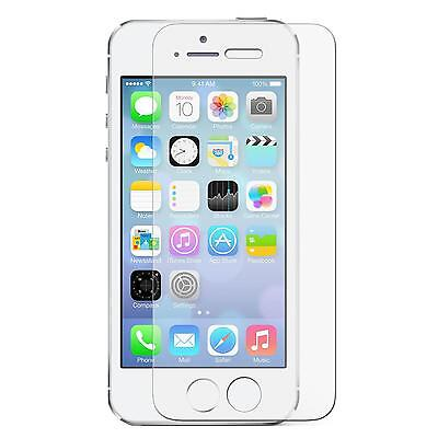 Tempered Glass Screen Protector for Apple iPhone SE 5S 5C 5 Temper Display Saver
