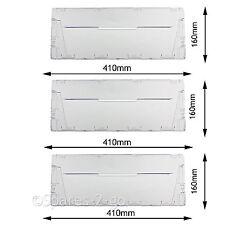 PANNELLO di copertura in Plastica Cassetto Flap Anteriore per INDESIT CA55 Frigorifero Congelatore CAA55 x 3
