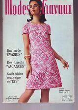 modes et travaux - juin 1967 - numero 798