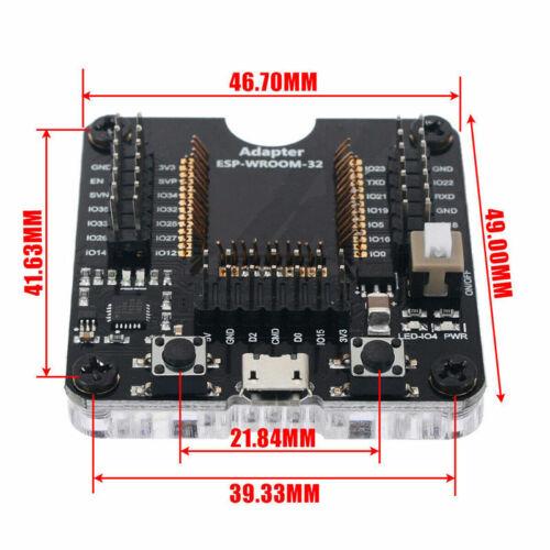 Programmer Tool ESP32 Adapter Socket Kit Fit For ESP-WROOM-32 Module CS