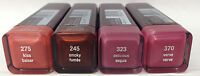4 Piece Lot Covergirl Factory Damaged Lipstick Wholesale Lot Assorted