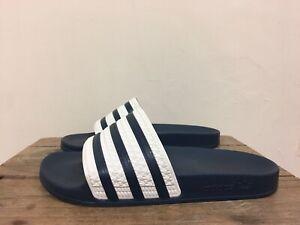 Adidas ADILETTE Diapositivas/Sandalias Azul Marino Unisex ...