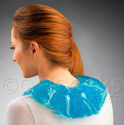 THERAPEARL Neck Shoulder Gel Bead Heat Pack Wrap Stress Ache Pain Relief Injury