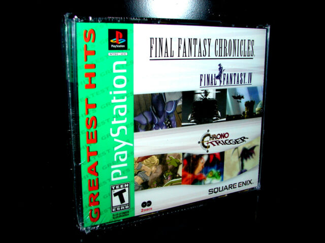 Final Fantasy CHRONICLES (PLAYSTATION 2 PS1 / PS2)   ***NEW SEALED***