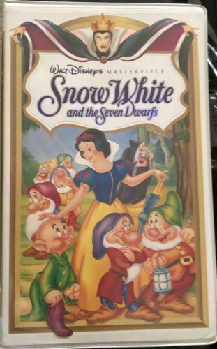 Snow White And The Seven Dwarfs VHS Masterpiece Collection Sealed - $9.99