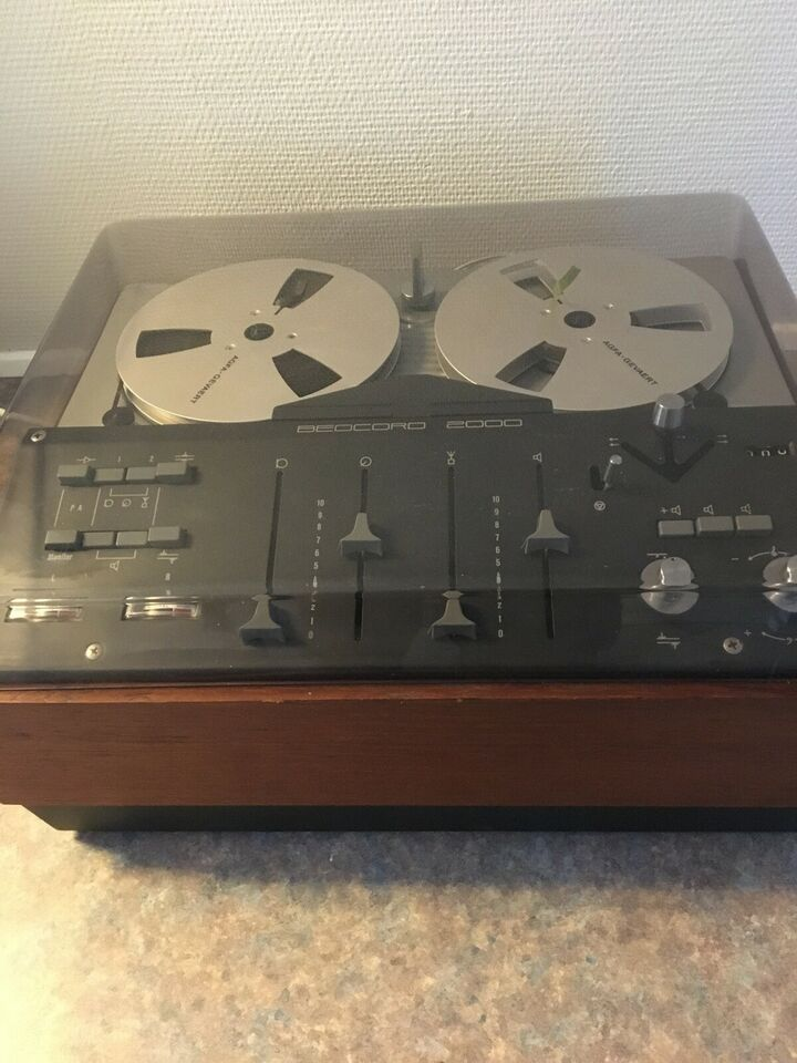 Spolebåndoptager, Bang & Olufsen, Beocord 2000 K Type