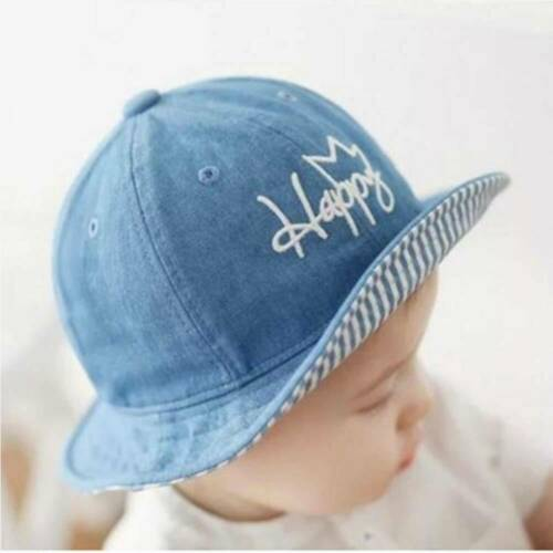 Baby Sun Hat Summer Beach Hat Bucket Cap Newborn Toddler Kids Boy Girl 0-2 Years
