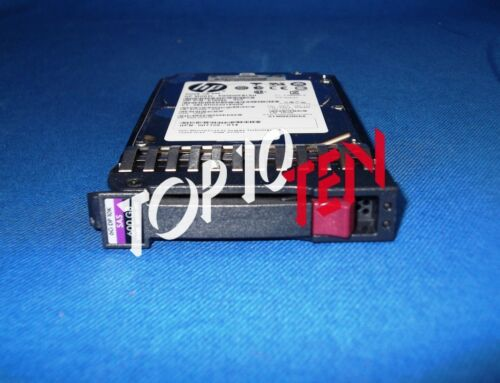 "1 von 1 - HP 581311-001 600GB 2,5"" 10k DP 6Gbs SAS Hot-Plug HDD / G2 => G7 581286-B21"