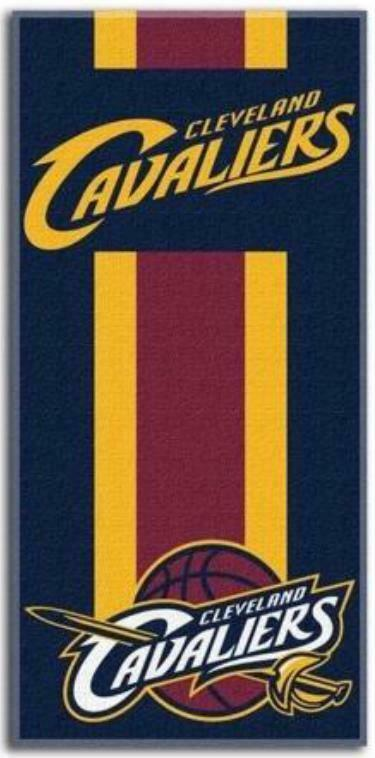 Cleveland Cavaliers NBA Basketball Toalla Playa Baño Beach Towel 150 Cm