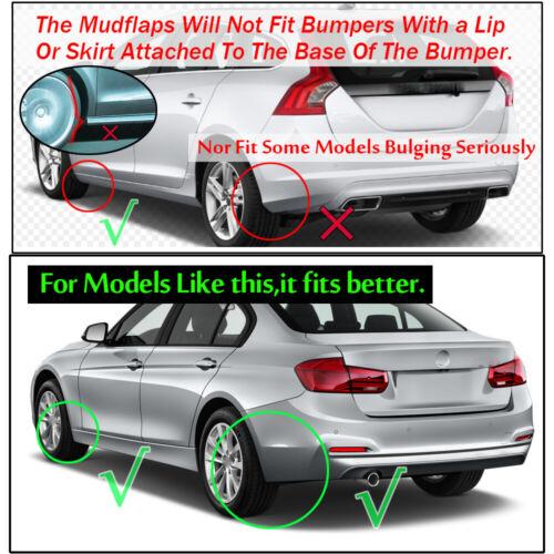 Mudflaps Splash Guards For BMW E30 E46 E90 F30 M3 E34 E60 Mud Flaps Mudguards