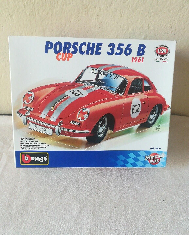 salida Modello Porsche 356 B Cup Burago Metal Kit Kit Kit Made In   venta