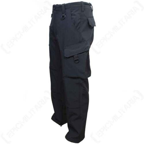 Pantaloni Explorer softshell nera-Outdoor Impermeabile Antivento Foderato