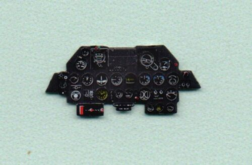 Yahu Models 1/72 P-47D Thunderbolt Late Instrument Panel for Revell/Tamiyas