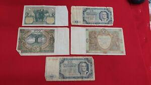 Polonia-Lote-de-5-Billetes-Antiguos-para-Ordenar-REF53165