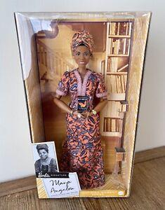 Maya Angelou Barbie Signature Inspiring Women Series Collector Doll 12 IN HAND