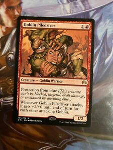 GOBLIN PILEDRIVER X4 Mystery Booster//the List Magic MTG MINT CARD