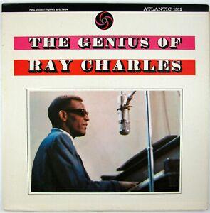 RAY CHARLES The Genius Of Ray Charles LP 1962 R&B/SOUL/JAZZ NM- NM-