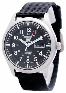 Reloj-de-Seiko-5-Automatic-hombres-100m-deportes-nueva-SNZG15K1-SNZG15