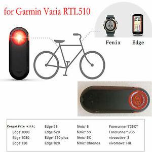 Per-Garmin-Varia-RTL510-Edge520-820-1030-Retrovisore-Radar-Tail-Luce-Light-Bike