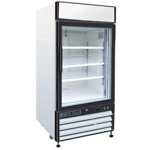 Maxx-Cold-MXM1-12R-Reach-In-Cooler-Single-Glass-Door-Refrigerator-Merchandiser