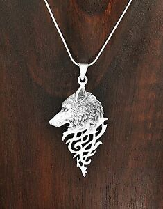 Sterling silver mystical celtic spirit wolf pendant taxco mexico ebay image is loading sterling silver mystical celtic spirit wolf pendant taxco mozeypictures Image collections